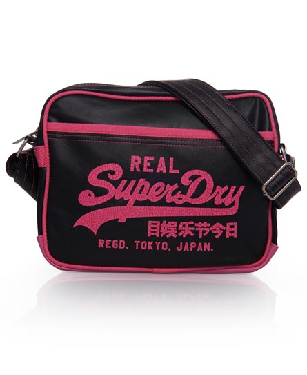 Superdry Alumni Mini Bag Black