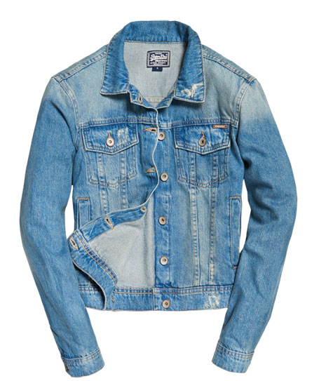 Superdry Girlfriend Denim Jacket