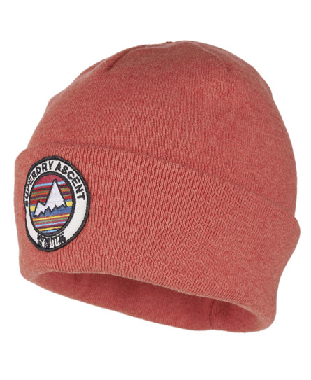 Superdry Ascent Beanie Pink