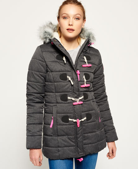 Superdry Superdry Tall Marl Toggle Puffer jakke