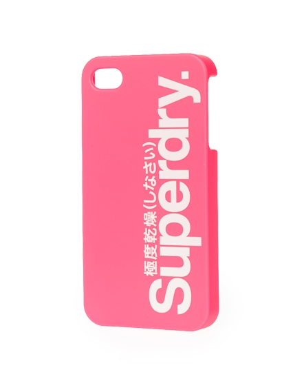Superdry iPhone 4/4S Shell Pink