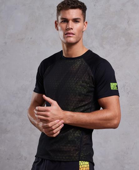 Training All Over Print T-Shirt Superdry