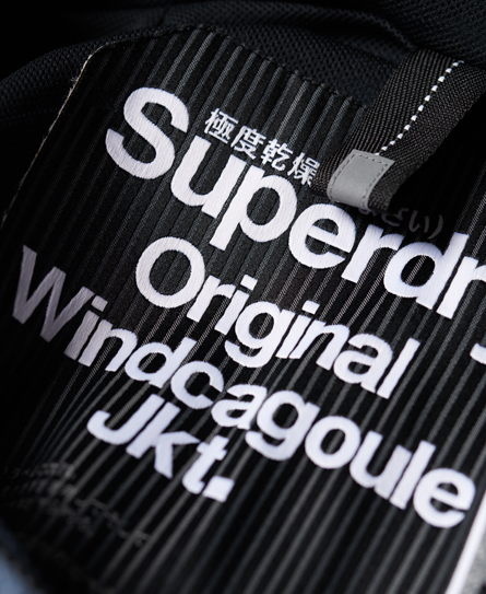 Superdry Dual Zip Through Cagoule