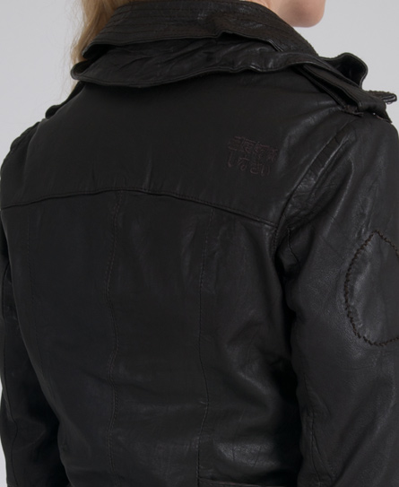 Superdry Ramona Check Leather