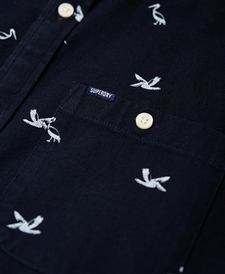 Superdry Vacation Oxford-skjorte
