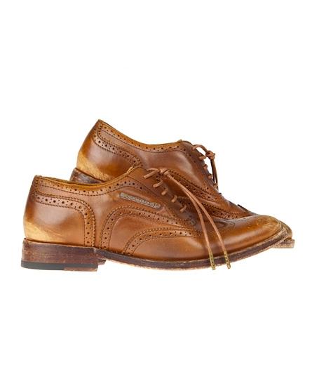 Superdry Premium Brogue Shoe Brown