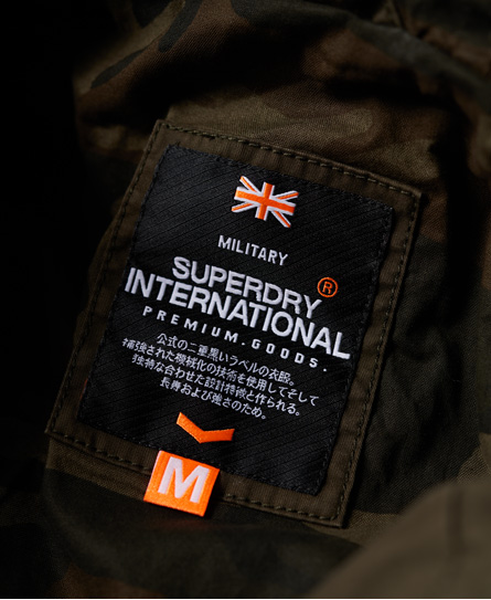 Superdry Classic Rookie Military Parka Coat