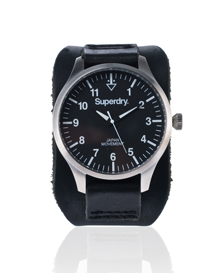 Superdry Colosseum Watch Black