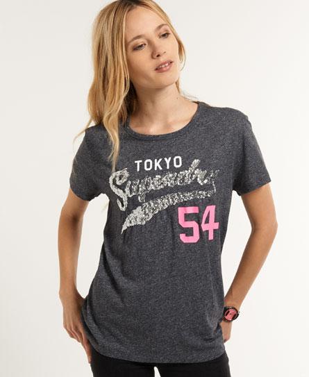 Superdry Tokyo 54 T-Shirt Navy