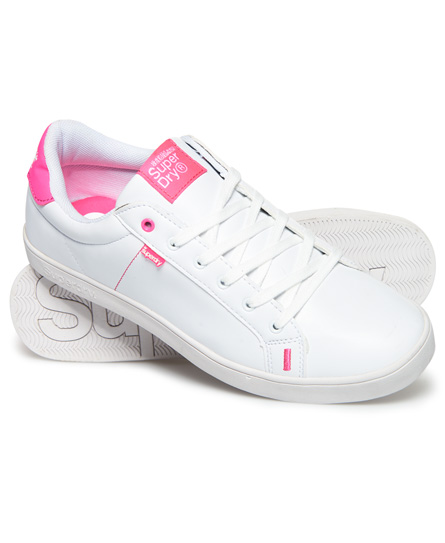 optic/rose fluo Superdry Baskets SD Tennis