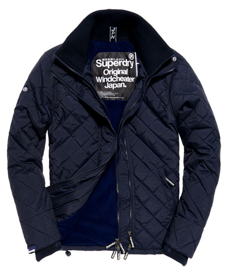 Quilted Arctic Windcheater Jacket