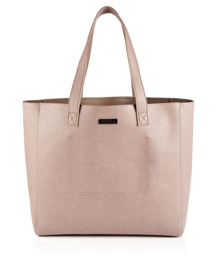 taupe Superdry Elaina Tote Bag