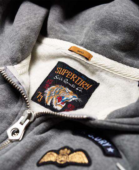 Superdry Willow Badge Kapuzenjacke