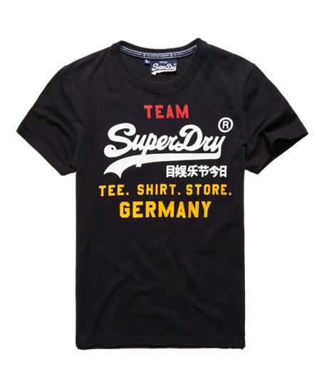 superdry t shirt euro vintage logo allemagne t shirts pour homme. Black Bedroom Furniture Sets. Home Design Ideas