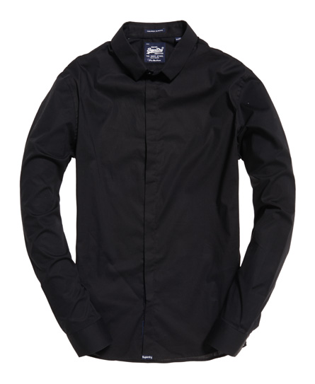 Superdry Tailored Slim skjorte med lange ærmer