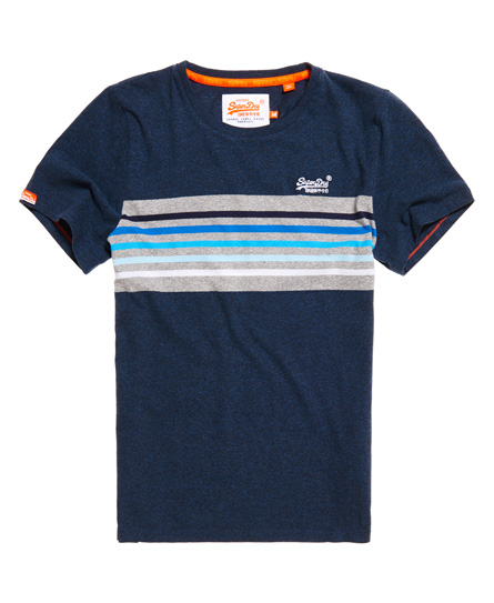 Superdry Orange Label Cali Surf Banner T-Shirt