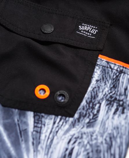 Superdry Surplus Goods Photo Swim Shorts