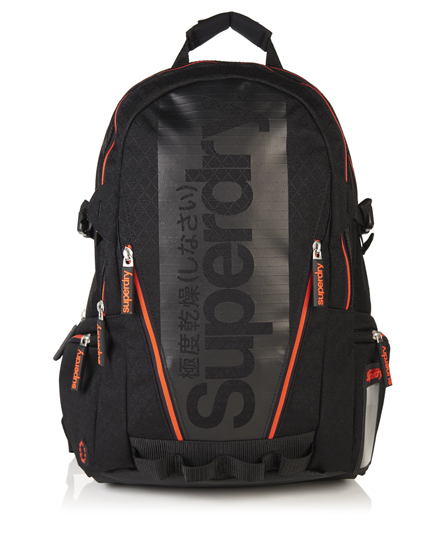 Superdry Diamond Tarp ryggsekk 1SIZE male  Svart