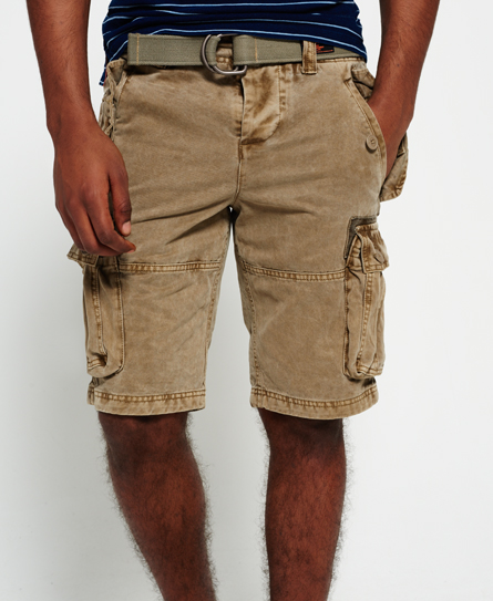 superdry core heavy field cargo shorts herren shorts. Black Bedroom Furniture Sets. Home Design Ideas
