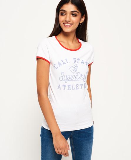 Superdry Superdry State Athletic Ringer T-shirt