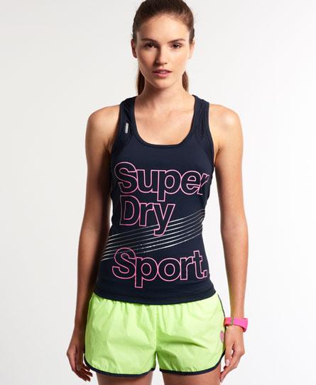 superdry superdry gym top damen superdry sport. Black Bedroom Furniture Sets. Home Design Ideas