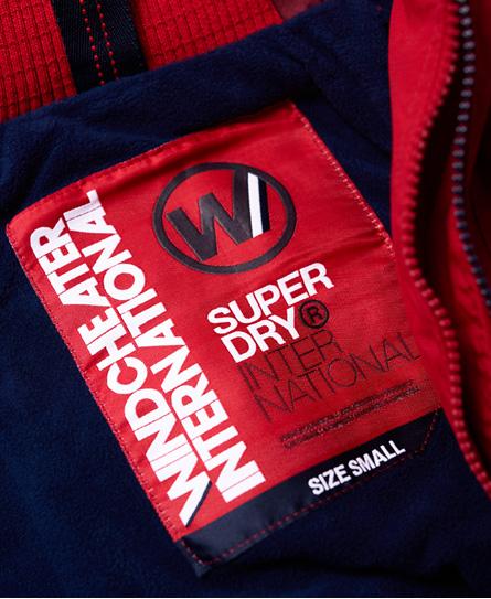 Superdry Hupullinen Pop Zip Arctic SD-Windcheater -takki