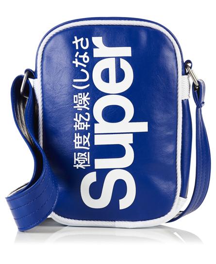 baseball blue Superdry Festival Bag