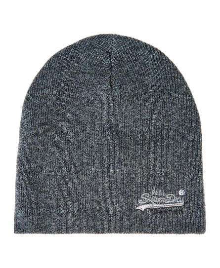 Basic Tonal Embroidery beanie