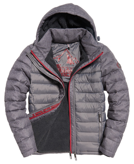 Superdry Fuji Mix Double Zip Hooded Jacket