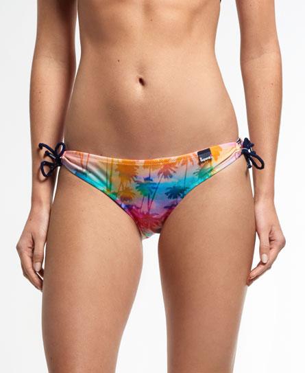 regenbogen Superdry Rainbow Palm Bikinihöschen