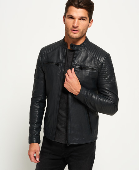 Leather Jackets | Mens Leather Jackets | Superdry