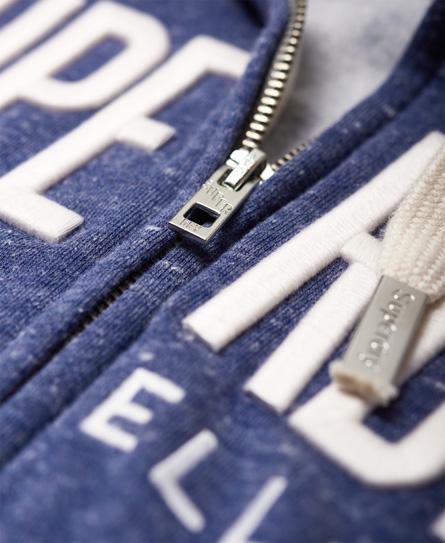 Superdry Applique Zip Hoodie