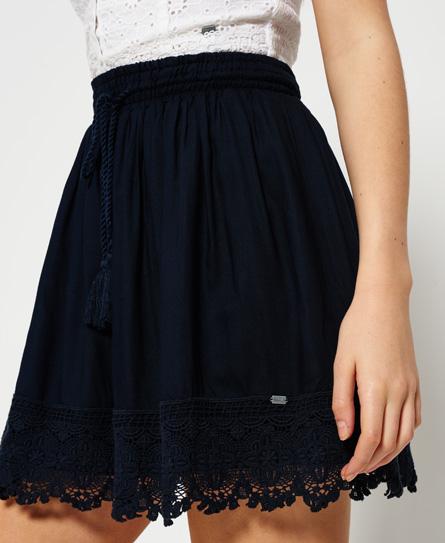 Superdry Lacy Prairie Skirt