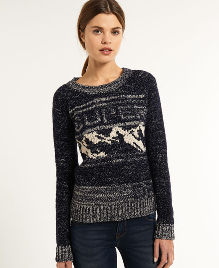 Superdry Snow Rider Knit Navy