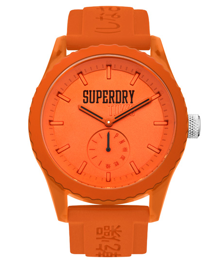 Superdry Tokyo Armbanduhr mit Farbblock-Design