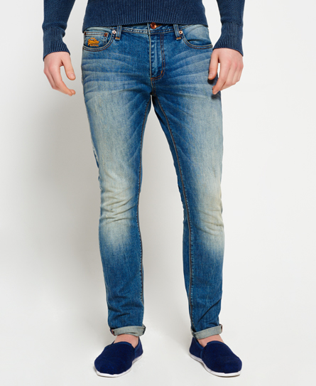 clear blue antique Superdry Skinny Jeans