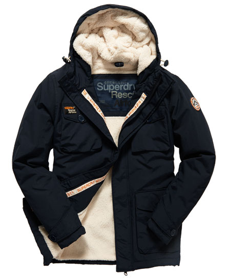 Superdry herren jacke everest coat