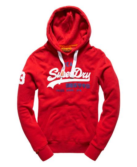 superdry vintage logo hoodie herren hoodies. Black Bedroom Furniture Sets. Home Design Ideas