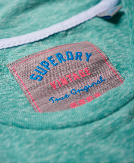 Superdry Vintage Logo Embossed Foil T-Shirt