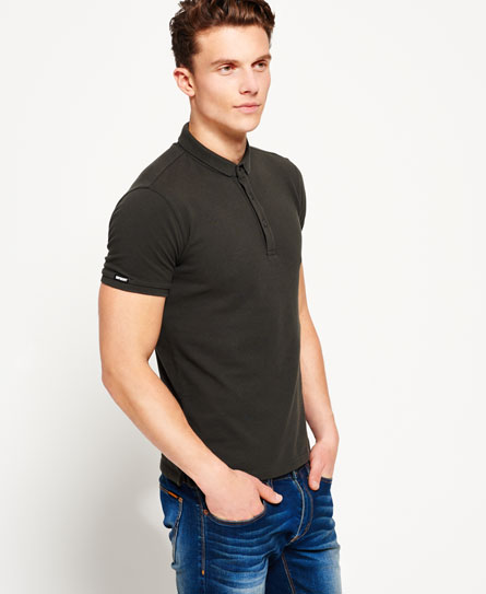 dark olive Superdry Polo City