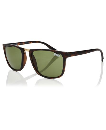 gummiertes schildpatt Superdry Maverick Sonnenbrille