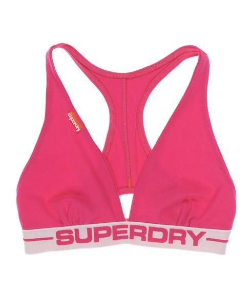 Superdry Women's Sports Bra Pink