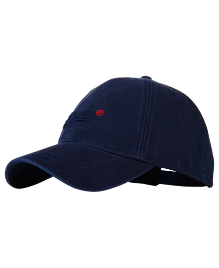 navy Superdry Orange Label Solo Cap