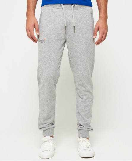 eisgrau gesprenkelt Superdry Orange Label Lite Slim Jogginghose