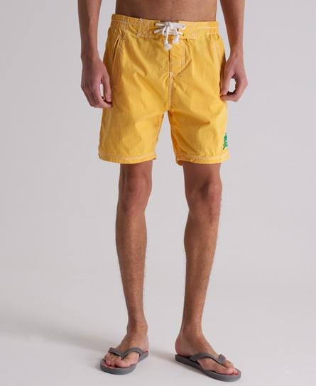 Superdry Premium Deck Shorts Yellow