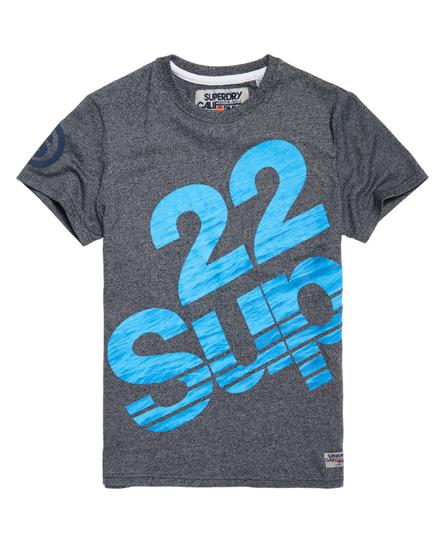 arenilla azul marino Superdry Camiseta Sup