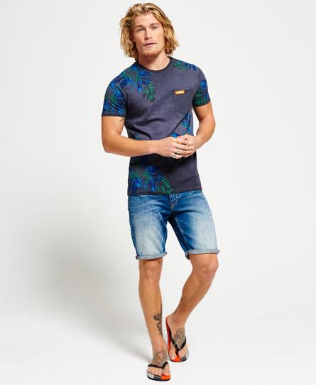 California T-shirt met zak