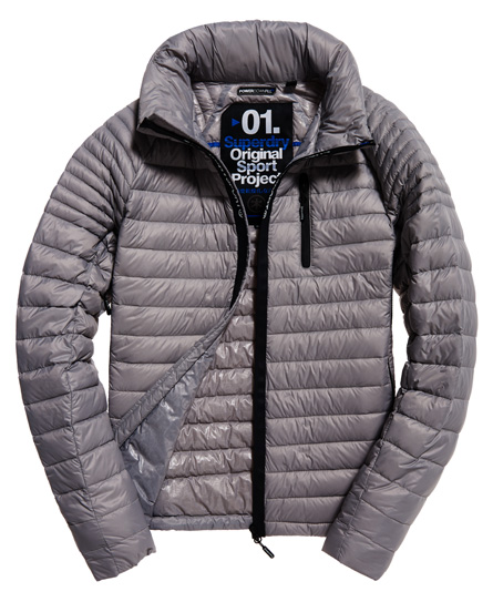 Superdry Sport Power Down Hooded jacket
