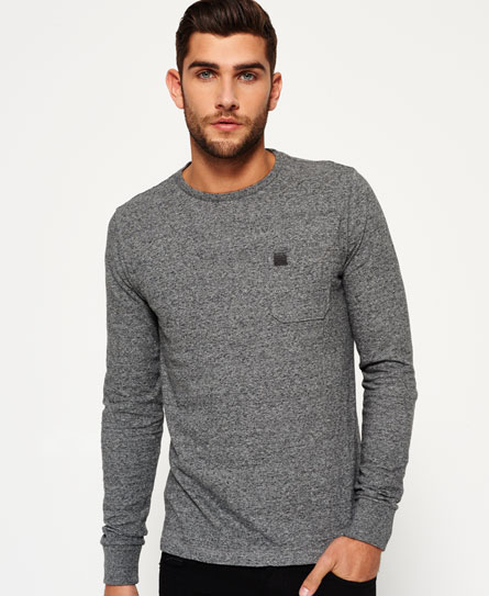 queens grey grit Superdry T-shirt à poche Surplus Goods
