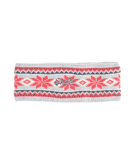 Superdry Nordic Head Band Light Grey